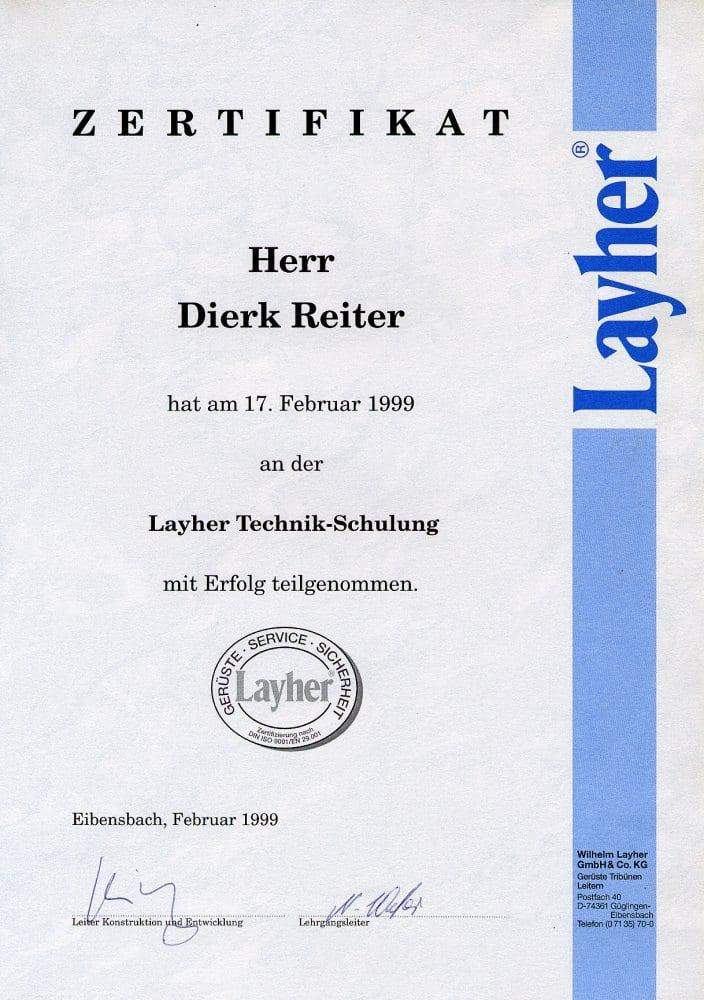 Layher Technik (Gerüstbau)